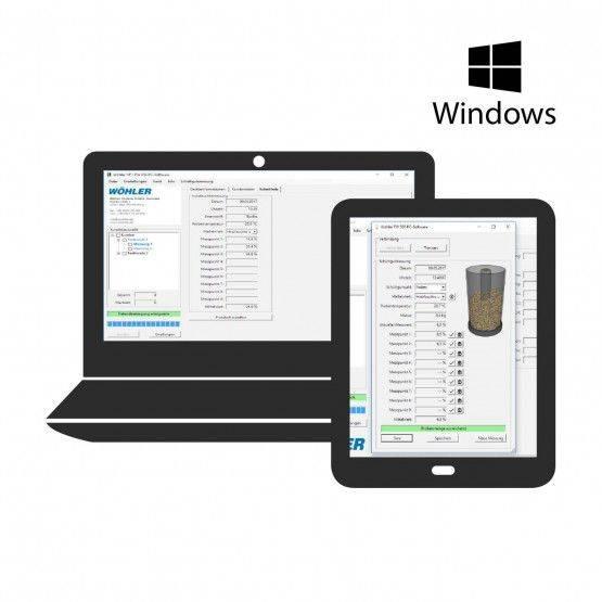 PC Software Wöhler HF / FW 550