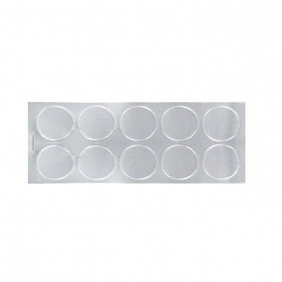 Cover labels, aluminium,