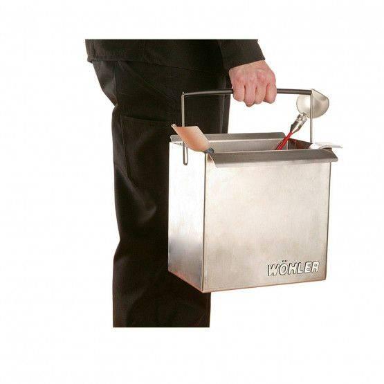 Wöhler Soot bucket aluminium