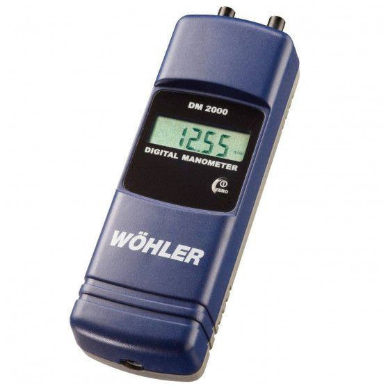 Wöhler DM 2000 Digital Manometer in Pa