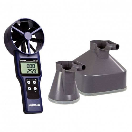 Wöhler FA 430 Fan Anemometer Set