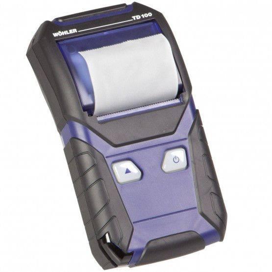 Wöhler TD 100 Thermal Fast Printer