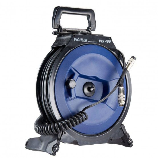 Cable reel with 20 m camera cable