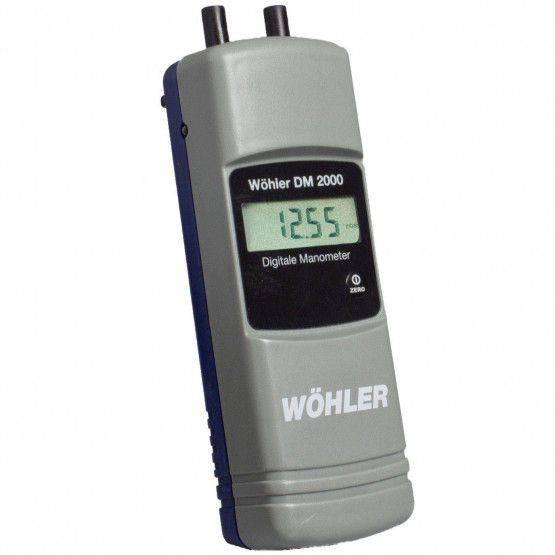 Wöhler DM 2000 Digital Manometer