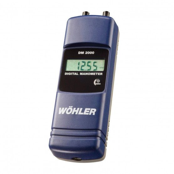 Wöhler DM 2000 digital manometer in mbar