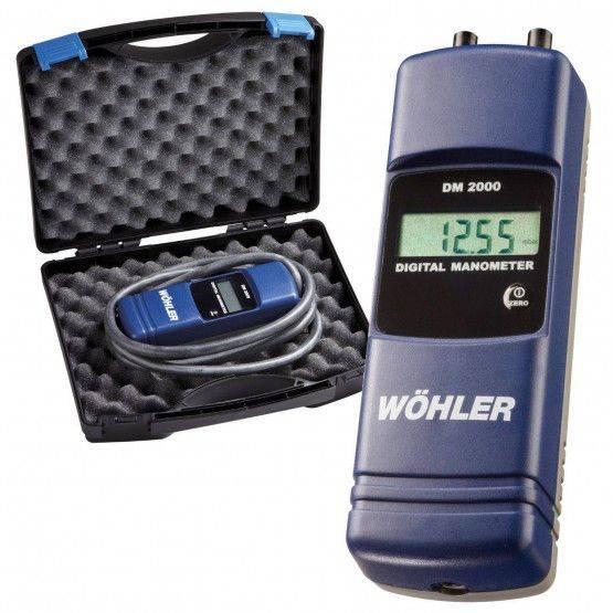 Wöhler DM 2000 - Gas Installer Set