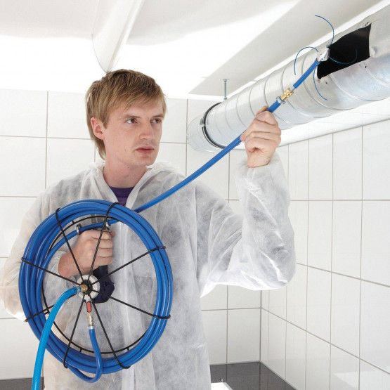 Wöhler Compressed Air Cleaning