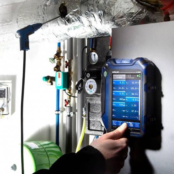 Wöhler A 550 Flue Gas Analyzer